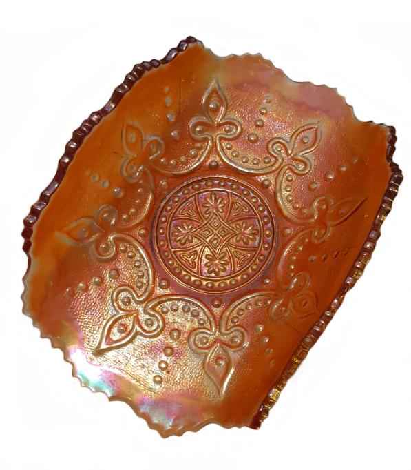 Pattern: Carnival Glass Showcase